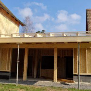 Wohnhaus Anbau