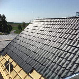 Dämmen und Dacheindekcung